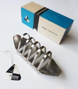 1956, Campden Toastrack, box & Design Centre kitemark label © Robert Welch Designs Ltd