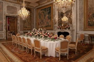 (Before) The Dining Room, Waddesdon Manor, The Rothschild Collection (The National Trust). Photo Mike Fear © The National Trust, Waddesdon Manor