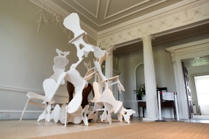 'Chair Play' in the Entrance Hall Credit: Jack Nelson