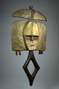 David Malik A powerfully abstract mbulu ngulu reliquary figure of the Kota people, Gabon, West Africa
