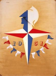 Festival of Britain Colour Lithograph Poster © Estate of Abram Games