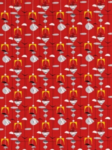Image of Mobiles fabric ref. 220035 Image courtesy of Sanderson, www.sanderson-uk.com