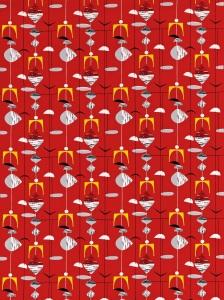Image of Mobiles fabric ref. 220035 Image courtesy of Sanderson, www.sanderson-uk.com