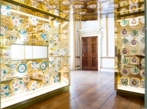 Inside the Golden Box is an amazing collection of porcelain Credit: Jack Nelson