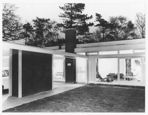 The Experimental House Allesley Village designed in 1958 by Geoffrey Salmon for JM Austin Smith Photographer unknown