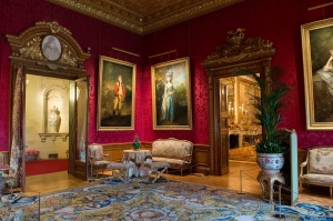 The Red Drawing Room, Waddesdon Manor (C) The National Trust, Waddesdon Manor photo Dereck Pelling (4)