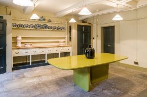Below Stairs exhibition in Soane's Museum front kitchen Photo: Gareth Gardner