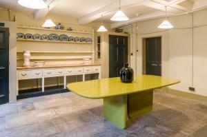 Below Stairs exhibition in Soane's Museum front kitchen Photo: Gareth Gardner