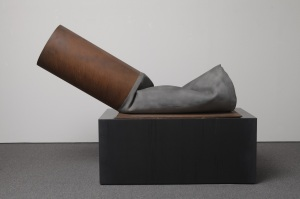 Frieze Sculpture Park Claes Oldenburg, 'Fagend Study' (1975). Courtesy Luxembourg & Dayan