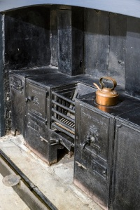 Georgian kitchen range in the Soane's Museum back kitchen. Photo: Gareth Gardner