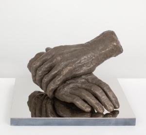 Nicole Farhi 'Philanthropist' bronze, edition of 9, height: 20cm