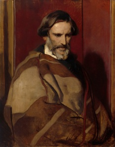 Sir Edwin Landseer, R.A. (1802-1873) Portrait of John Gibson, R.A. ca.1850 Bequeathed by Sir Edwin Landseer, R.A., 1874 92.50 x 72.0 x 2.50 cm Oil on canvas Photo credit: (c) Royal Academy of Arts, London; Photographer: John Hammond