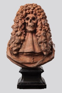 A Vanitas bust Italian or French School, c. 1700 Terracotta, 85cm. Colnaghi