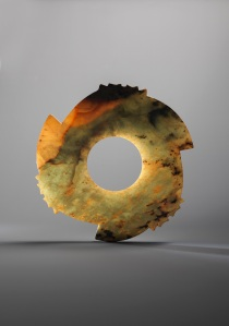 Archaic Jade Notched Disc Late Neolithic period – Shang period, 2000 - 1500 BC Diameter: 33.0cm Courtesy of Eskenazi