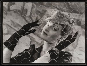 Erwin Blumenfeld, Vogue, Paris, 1938, Silver Gelatin Print, Courtesy Osborne Samuel
