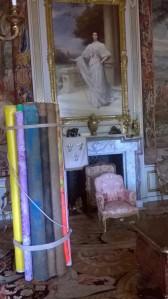 First State Room Il fascio della tella/The bundle of canvas (1980) 214 x 70 cm canvas, cord Courtesy of Tim Forrest