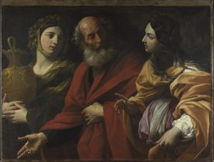 Guido Reni Lot and his Daughters leaving Sodom About 1615-16 Oil on canvas 111.2 x 149.2 cm The National Gallery, London © The National Gallery, London
