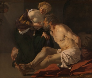 Dirck van Baburen Cimon and Pero (Roman Charity), 1622-3 Oil on canvas 127 x 151 cm York Art Gallery, York Museums Trust © Image courtesy of York Museums Trust