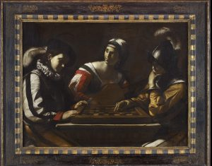 Mattia Preti, called II Calabrese Draughts Players, about 1635 Oil on canvas 107.9 × 142.2 cm © Ashmolean Museum, University of Oxford