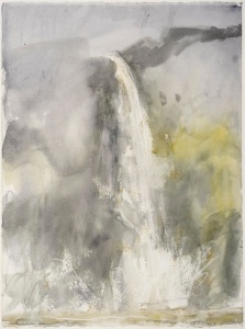 Norman Ackroyd RA Hardraw Force, North Yorkshire, 2005 Courtesy of The Fine Art Society