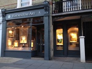 Haynes Fine Art London Gallery