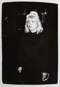 ANDY WARHOL American 1928-1987 (ref. 13731) 'Debbie Harry' Unique gelatin silver print, dated 'Oct 27 1980' verso Paper size: 10 x 8 inches