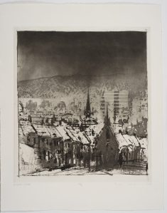 Norman Ackroyd RA Holbeck - Leeds, 1991, Courtesy of The Fine Art Society