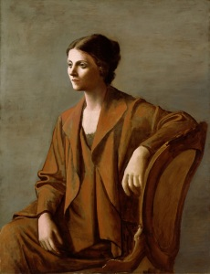 Portrait of Olga Picasso by Pablo Picasso, 1923; Private Collection Copyright: Succession Picasso/DACS London, 2016