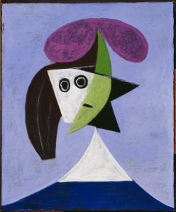 Woman in a Hat (Olga) by Pablo Picasso, 1935; Centre Pompidou, Paris. Musée national d'art moderne Copyright: Succession Picasso/DACS London, 2016 Photo: Centre Pompidou, MNAM-CCI, Dist. RMN-Grand Palais/Rights reserved