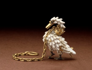 The Dunstable Swan Jewel, ca. 1400 c The Trustees of the British Museum