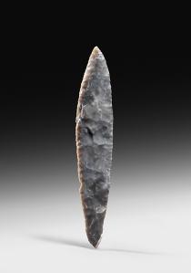 Danish flint dagger Neolithic. c.2000-1800 BC Length: 17.9 cm