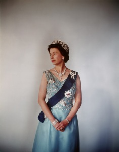 Queen Elizabeth (b.1926), photo Cecil Beaton (1904-80). Photograph. England, 1969. © Cecil Beaton/Victoria and Albert Museum, London
