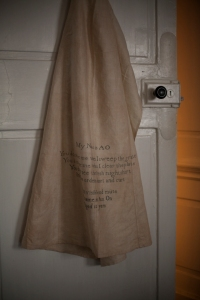 Diana Bliss Annies Apron Lives Loves and Loss - Traces at Fenton House Photo by Sophia Schorr-Kon
