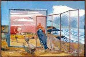 Paul Nash 1889-1946 Landscape from a Dream 1936-8 ©Tate
