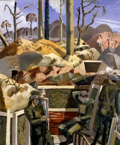 Paul Nash 1889–1946 Spring in the Trenches, Ridge Wood, 1917 1918 Imperial War Museum, London ©Tate