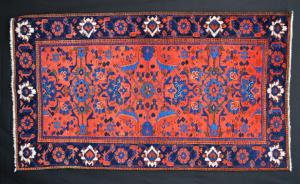19th Century Kurdish rug from Sauj Bolaq, Kurdistan Brian Macdonald