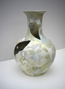 Zoë Hillyard Celadon Vase H: 63cm D: 43cm Contemporary Applied Arts (Image credit: Zoë Hillyard)