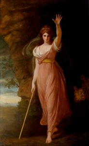 Emma as Circe, 1782, by George Romney ® The National Trust, Waddesdon Manor
