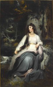 'Emma as La Penserosa', 1791-92 by Sir Thomas Lawrence ® The Abercorn Heirloom Settlement Trustees; Bryan F. Rutledge B.A.