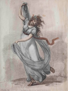 'Emma dancing the tarantella' c.1791 by William Lock ® The Jean Kislak Collection