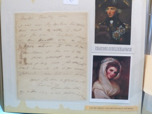 Lot 204. Lady Emma Hamilton (1765-1815) - signed letter. Est £300