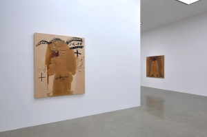 Antoni Tàpies - Installation View Photo: Sylvain Deleu Image Courtesy Timothy Taylor