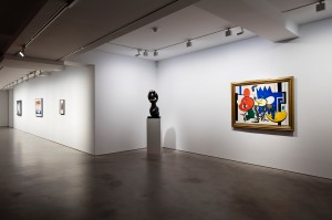 From Picabia to Picasso, Installation view at Olivier Malingue Gallery, January 2017. Photo: Plastiques Photography