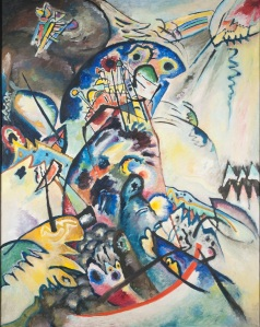 Wassily Kandinsky, Blue Crest, 1917 Oil on canvas, 133 x 104 cm State Russian Museum, St. Petersburg Photo (c) 2016, State Russian Museum, St. Petersburg
