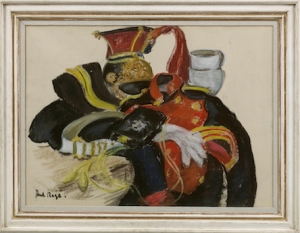 Paul Maze (1887-1979) The Lancer's Uniform Pastel 57 x 77 cm Panter & Hall
