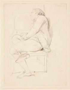 Giovanni Battista Cipriani, Bartolozzi Sleeping,c.1770 Royal Collection Trust /© Her Majesty Queen Elizabeth II 2016.
