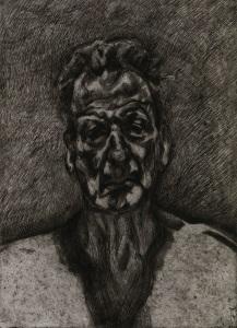 Lucian Freud, Self-Portrait: Reflection, 1996 Royal Collection Trust /© Her Majesty Queen Elizabeth II 2016.